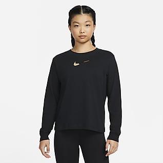 Nike Sportswear เสื้อยืดแขนยาวผู้หญิง