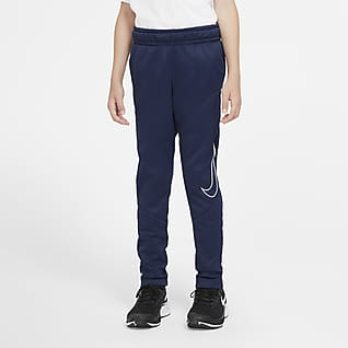 Nike Therma Older Kids' (Boys') Graphic Tapered Training Trousers