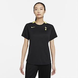 Tottenham Hotspur Nike Dri-FIT Kurzarm-Fußballoberteil für Damen