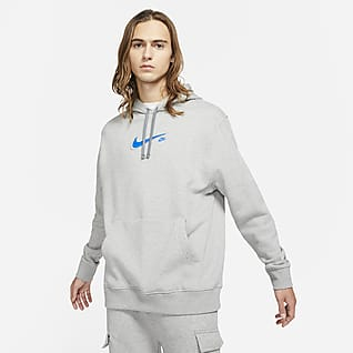 Nike Sportswear Court Ανδρικό φλις φούτερ με κουκούλα