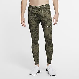 Nike Pro Mallas camufladas para hombre