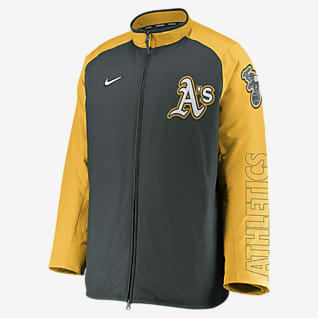Nike Dugout (MLB Oakland Athletics) Men's Full-Zip Jacket