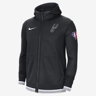 San Antonio Spurs Nike Showtime Men's Nike Dri-FIT NBA Full-Zip Hoodie