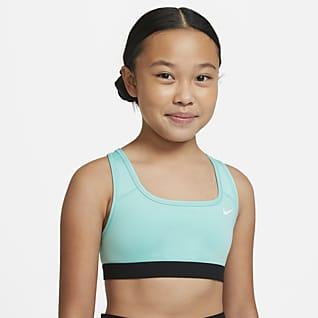 Nike Swoosh Αθλητικός στηθόδεσμος για μεγάλα κορίτσια