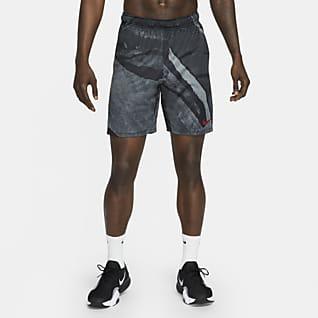 Nike Dri-FIT Shorts de entrenamiento con estampado para hombre