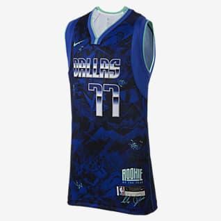 Luka Dončić Select Series Koszulka dla dużych dzieci Nike NBA