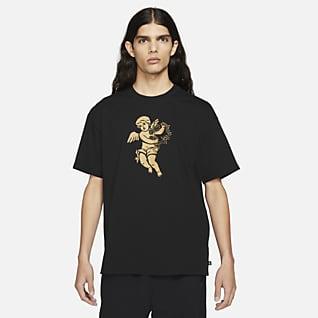 Nike SB Skateboard-t-shirt med tryck för män