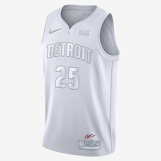 底特律活塞队 (Derrick Rose) MVP Nike NBA Jersey 男子球衣