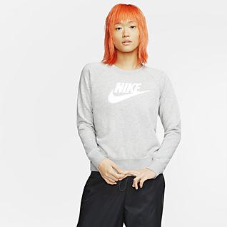 Damskie Bluzy z Kapturem i Swetry. Nike PL