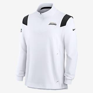 Nike Sideline Coaches Repel (NFL Jacksonville Jaguars) Chamarra con cierre de 1/4 para hombre