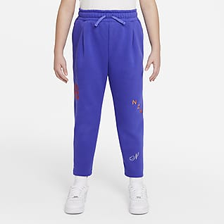 Nike Sportswear Big Kids' (Girls') French Terry Pants (Extended Size)