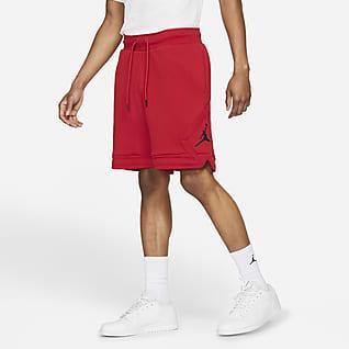 Jordan Essential Мужские флисовые шорты с ромбовидными вставками