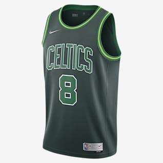 Kemba Walker Celtics Earned Edition Camiseta Nike NBA Swingman para hombre