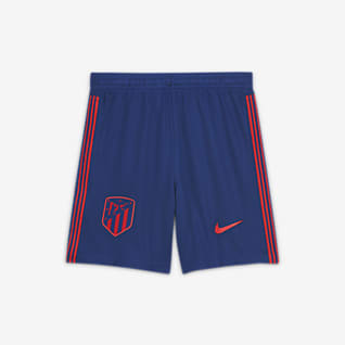 Atlético de Madrid 2020/21 Stadium Home/Away Older Kids' Football Shorts