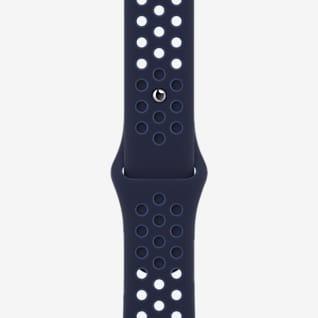 41mm Midnight Navy/Mystic Navy Nike Sportarmband – Normalgröße