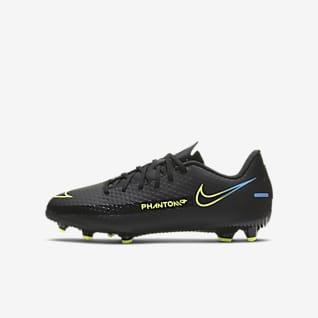Nike Jr. Phantom GT Academy MG Calzado de fútbol para múltiples superficies para niños talla pequeña/grande