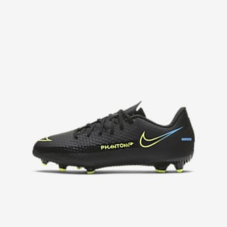 Nike Jr. Phantom GT Academy MG Voetbalschoen voor kleuters/kids (meerdere ondergronden)