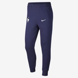 FFF Pantalon de football en tissu Fleece pour Homme