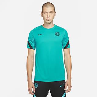 Inter Mailand Strike Nike Dri-FIT Kurzarm-Fußballoberteil für Herren