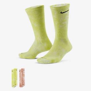 Nike Everyday Plus Cushioned Tie-Dye Crew Socks (2 Pairs)