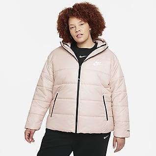 Nike Sportswear Therma-FIT Repel Damejakke (store størrelser)