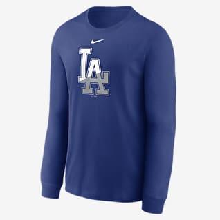 Nike Angle Logo (MLB Los Angeles Dodgers) Men's Long-Sleeve T-Shirt