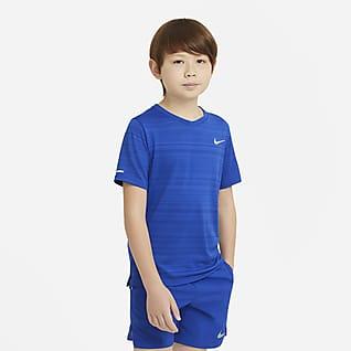 Nike Dri-FIT Miler Træningstrøje til store børn (drenge)