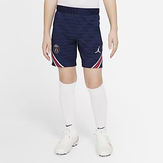 Paris Saint-Germain Strike Shorts de fútbol para niños talla grande