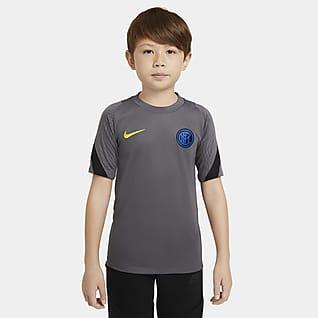 Inter Milan Strike Camiseta de fútbol de manga corta para niños talla grande