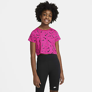 Nike Sportswear Croppet T-shirt til store børn (piger)