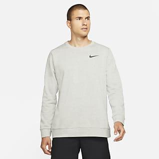 Nike Dri-FIT Sudadera de cuello redondo de entrenamiento para hombre
