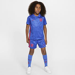 Выездная форма Англии 2020 Футбольный комплект для дошкольников