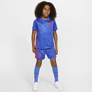 England 2020 Away Younger Kids' Football Kit