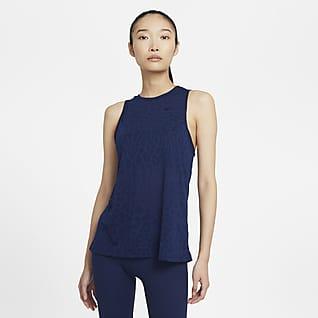 Nike Pro Dri-FIT Camiseta de tirantes estampada para mujer