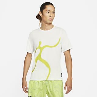 Nike Rise 365 A.I.R. Chaz Bear 男款跑步上衣