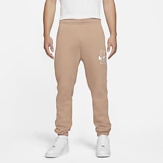 Nike Sportswear Club Calças de lã cardada para homem