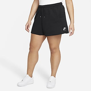 Nike Air Shorts de tejido Fleece para mujer (talla grande)