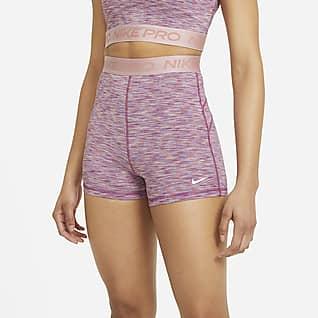 Nike Pro Space-dye damesshorts (8 cm)