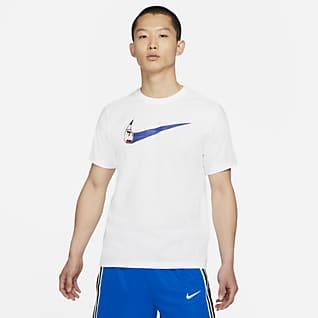 Nike Swoosh เสื้อยืดบาสเก็ตบอลผู้ชาย