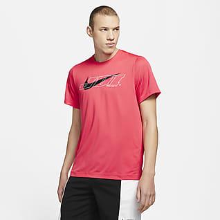 Nike Sport Clash Camiseta de entrenamiento de manga corta para hombre