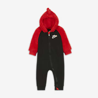 Nike Coverall med dragkedja i fullängd för baby (0–9 mån)
