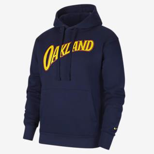 Γκόλντεν Στέιτ Ουόριορς City Edition Logo Ανδρική μπλούζα με κουκούλα Nike NBA