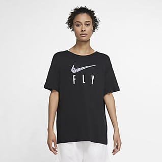 Nike Dri-FIT Swoosh Fly Tee-shirt de basketball pour Femme