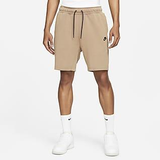 Nike Sportswear Tech Fleece Ανδρικό σορτς με ξεθωριασμένη όψη