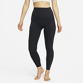 NIke Yoga Luxe 女款高腰霧采九分內搭褲