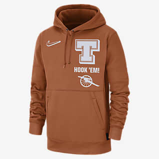 Nike College Therma Local (Texas) Men's Pullover Hoodie