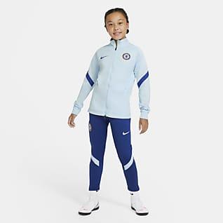 Chelsea FC Strike Conjunto de entrenamiento de fútbol para niños talla grande