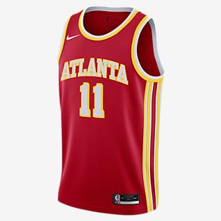 Trae Young Hawks Icon Edition 2020 Maillot Nike NBA Swingman