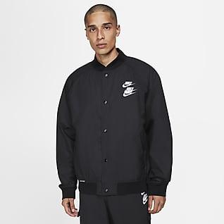 Nike Sportswear Dokuma Erkek Ceketi