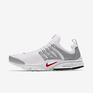 Silver & Dark Grey Nike Air Presto